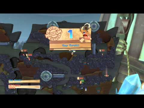 Worms Battlegrounds Playthrough The Norse Code