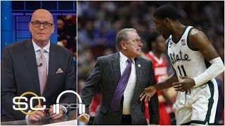 Tom Izzo yelling at Aaron Henry didn't bother Michigan State - Scott Van Pelt | SC with SVP