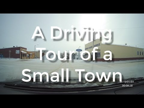 A Driving Tour of a Small Town