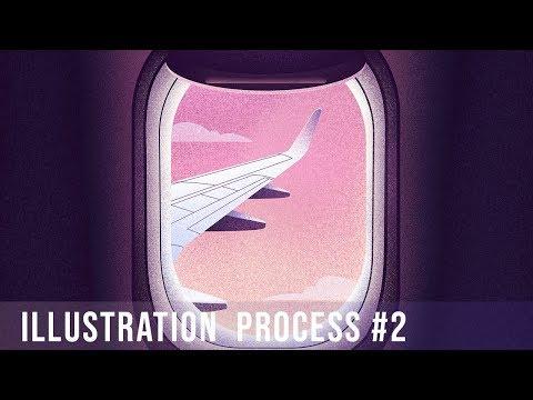Grain & Texture | Illustration Process #2