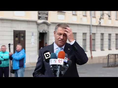 STIRIPESURSE.RO Klaus Iohannis: Voi candida pentru al II-lea mandat