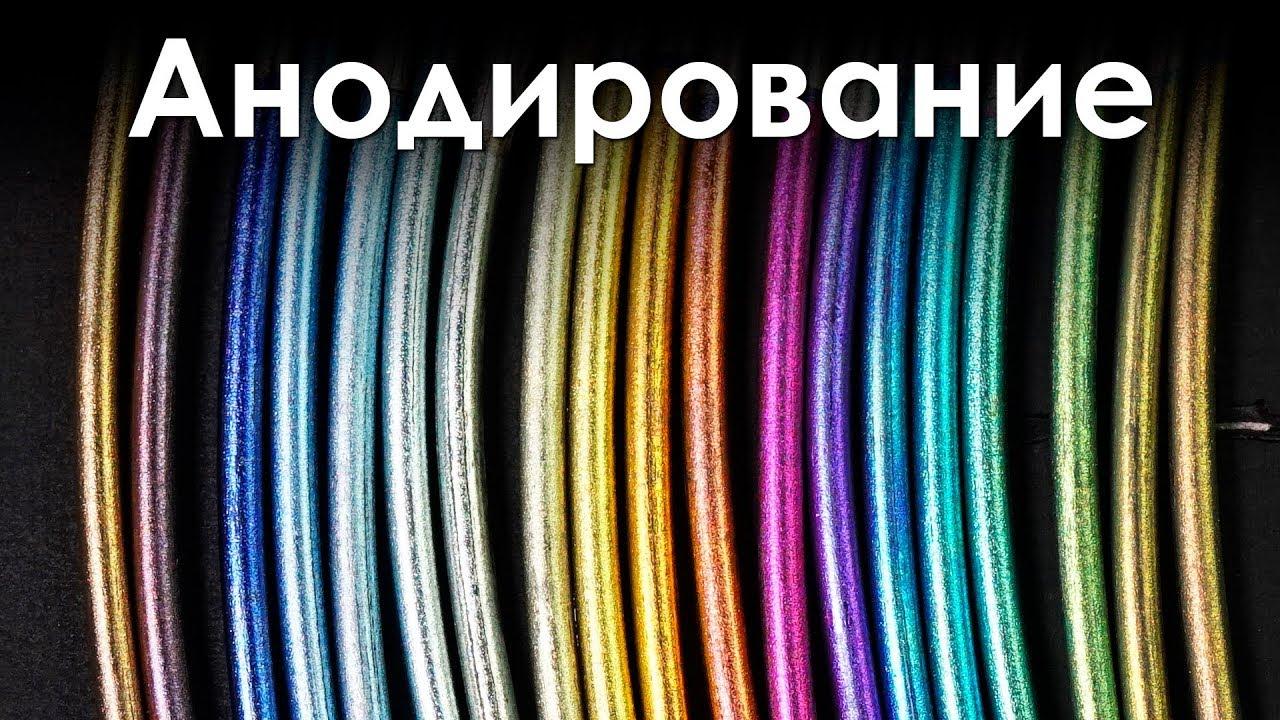 Покрасил Металл Электричеством! Цветное Анодирование!