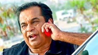 देखिये कैसे ब्रह्मानंदम ने फ़ोन पे किया डॉन को परेशान | Brahmanandam Ek Khiladi Comedy Scene