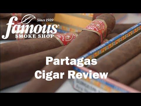 Partagas Cigars Overview - Famous Smoke Shop