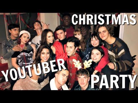 YOUTUBER GIFT EXCHANGE PARTY! | VLOGMAS