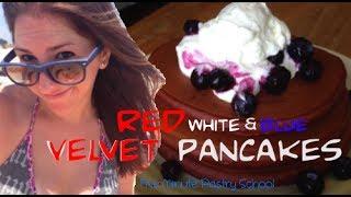Red Velvet Pancakes | Five Minute Pastry School