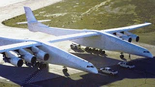 "The World's Largest Aircraft did take off in 2019; ""Stratolaunch"""