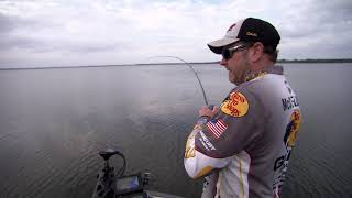 Using Electronics and Crankbaits  on Fayette County Reservoir with Mike McClelland