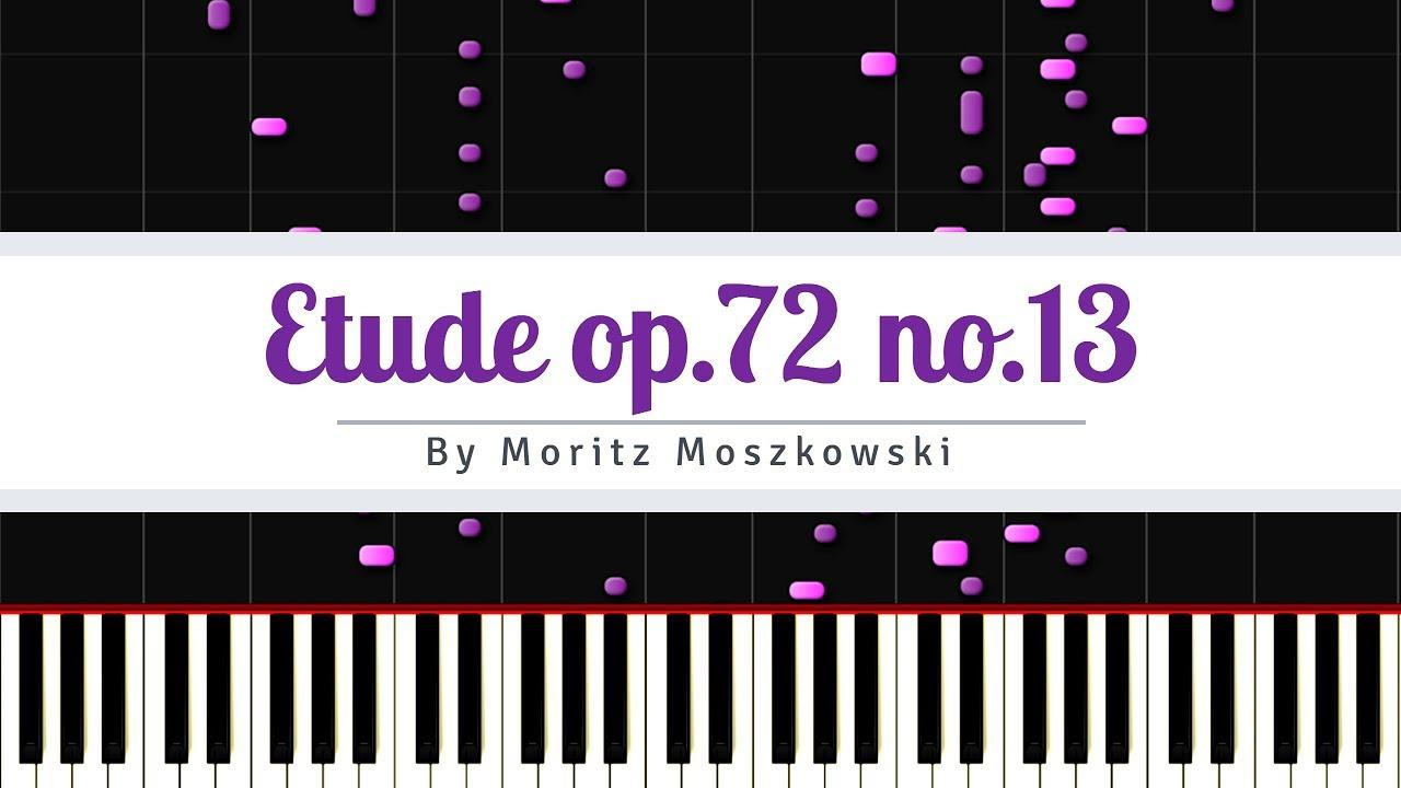 Etude in A-flat Minor, Op. 72, No. 13