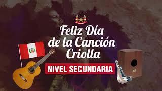 Feliz dia de la cancion criolla