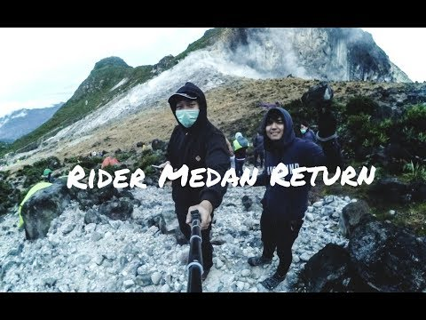 Rider Medan - Trip to Sibayak Mountain , North Sumatra - part#1