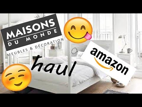 HAUL\ MAISON DU MONDE ET AMAZON [Lisa-Fashion]