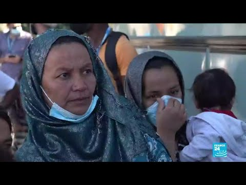 In Lesbos, France 24 meets refugees bound for mainland after Moria blaze