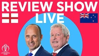 The Review LIVE – England v New Zealand | England Reach Semis! | ICC Cricket World Cup 2019