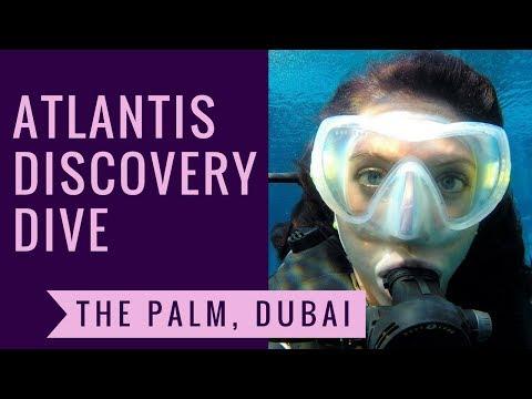 Atlantis Discovery Dive - The Palm, Dubai || Bonvoyage Bitches