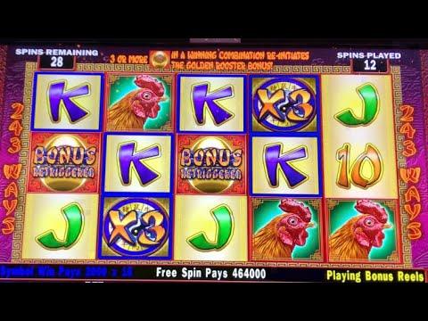 Incredible Jackpot | Golden Rooster | $20 Bet