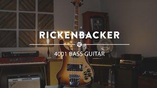 Rickenbacker 4001 Bass Guitar   Reverb Demo Video