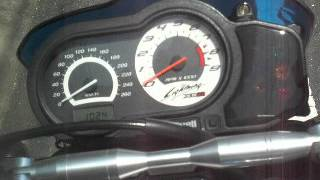 this is the sound of buell xb12ss of the tailor made muffler produced by the r style