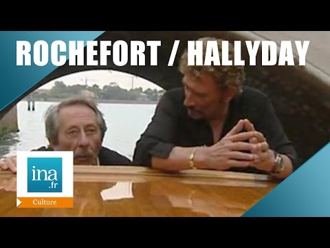 "Jean Rochefort et Johnny Hallyday ""L'homme du train"" 