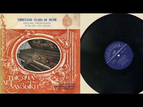 Alexei Lubimov harpsichord 16th & 17th Century English composers for the virginal