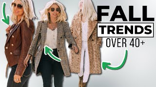 NEW! *TOP 5* Fall Fashion 2020 Trends You'll Want to Know About! (Style Over 40, Over 50)
