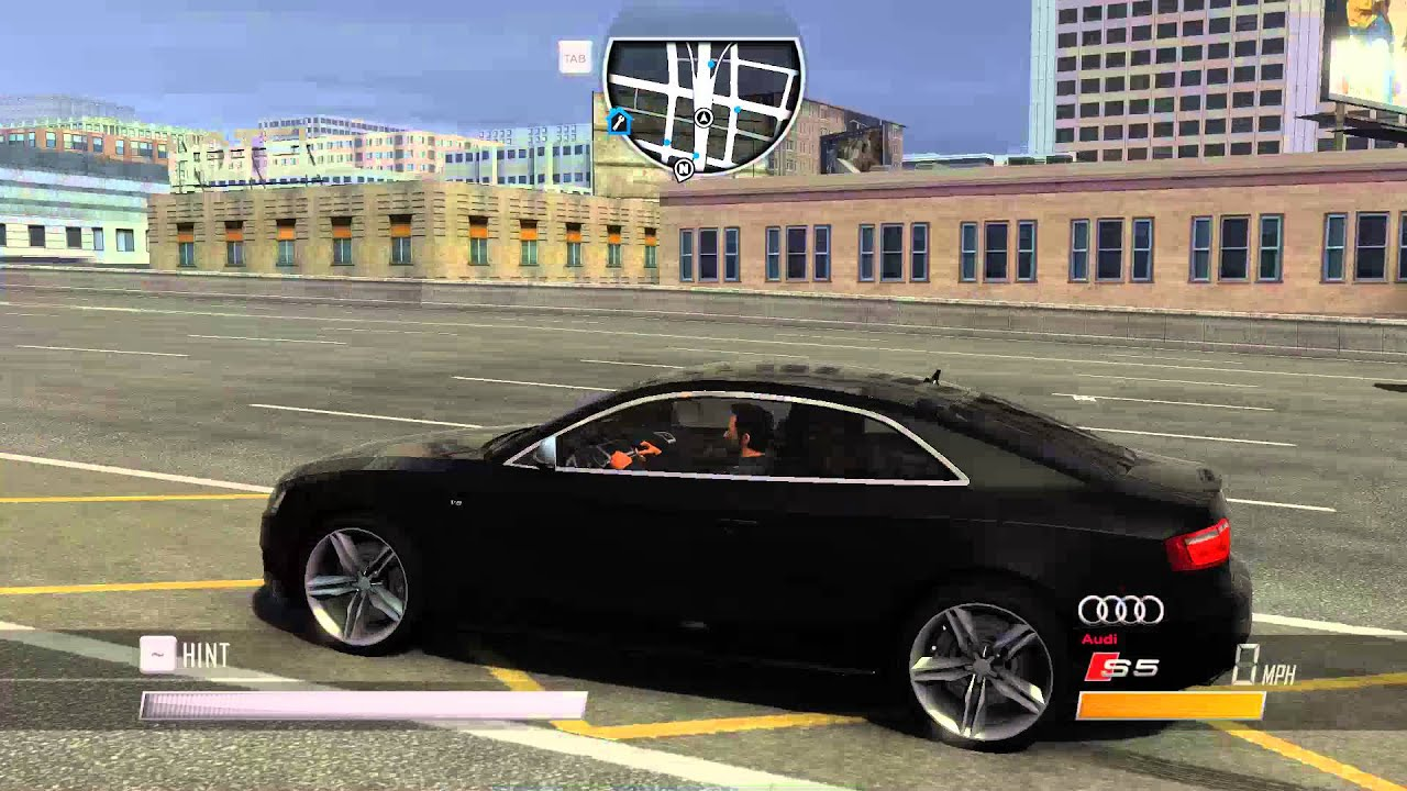 Girl Meets World in Driver San Francisco Audi S5 Coupe