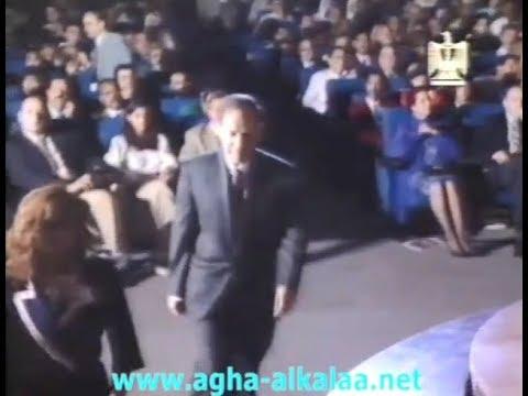 سعد الله آغا القلعة يحوز على الميدالية الذهبية كأفضل مقدم للبرامج التلفزيونية 1996