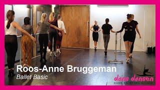 Ballet Basic door Roos-Anne || Dans-Dansen Donderdag