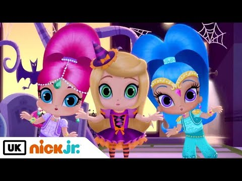 Shimmer and Shine | The Genie Halloweenie Song | Nick Jr. UK