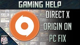Origin Directx Setup Error Fix Titanfall 2, Battlefield 1