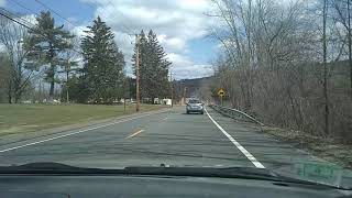 Driving to Dollar General in Palmer MA