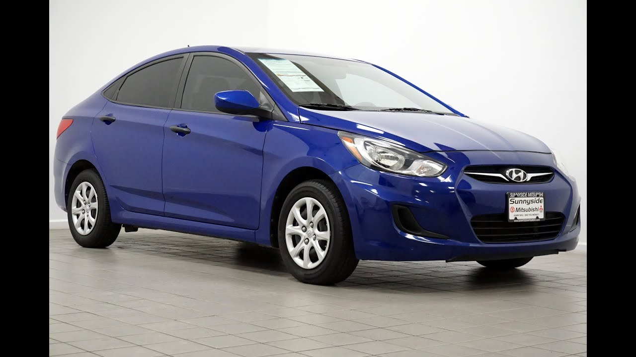 2012 Hyundai Accent GLS Blue SOLD  YouTube