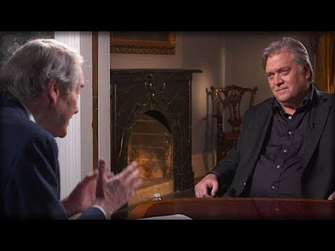 CHARLIE ROSE ASKED BANNON IF HE'S RACIST, WATCH STEVE BANNON SUDDENLY GO INSANE ON HIM