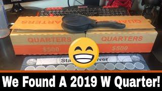 Hunting Quarters - Finally Found A 2019 W Quarter!