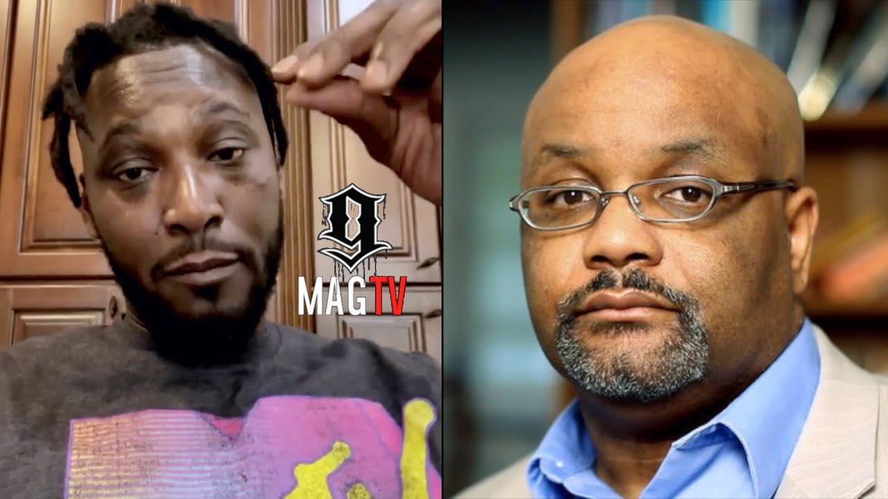 Kwame Brown Gives Dr. Boyce Watkins Some Of Momma's Cooking!👩🏽🍳
