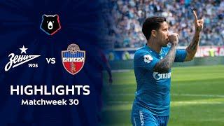 Highlights Zenit vs FC Enisey (4-1)