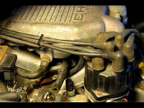 How to replace the thermostat on a 30L Dodge Caravan - YouTube