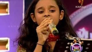 """Marudaani marudaani..."" - Poornasree sings A R Rahman's super hit in Millenium stars comedy show"