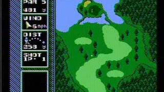 NES Open Tournament Golf - NES Gameplay