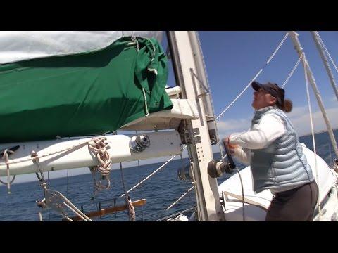 Sailing from Block Island to Newport, Parts 1 and 2 | #31 & #32 | DrakeParagon Season 2