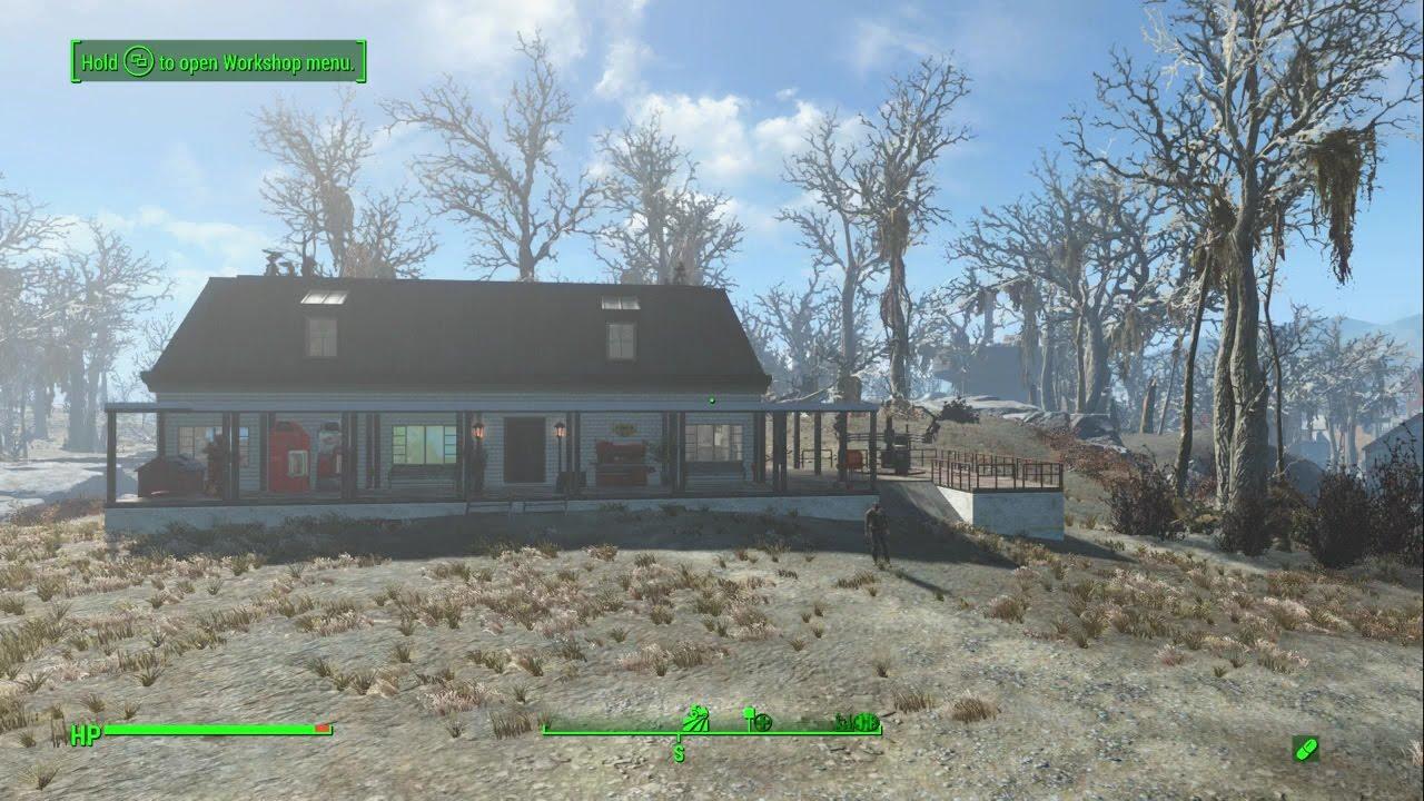 Greentop Nursery Fallout 4 Settlement Build Tour
