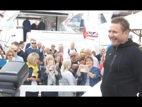 Simon Le Bon and the Southampton Boat Show