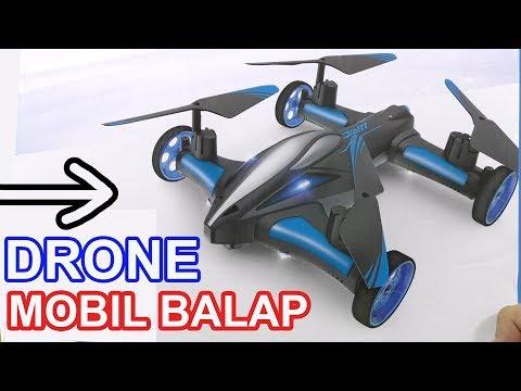 DRONE TERKEREN MOBIL BALAP, BISA TERBANG, CANGGIH, BISA BALAPAN