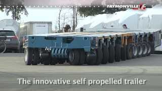 FAYMONVILLE PowerMAX SPMC - The self propelled trailer in action!