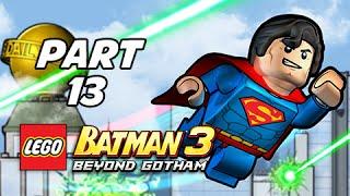 Lego Batman 3 Beyond Gotham Walkthrough Part 13 - Europe Against It (Lets Play Commentary)