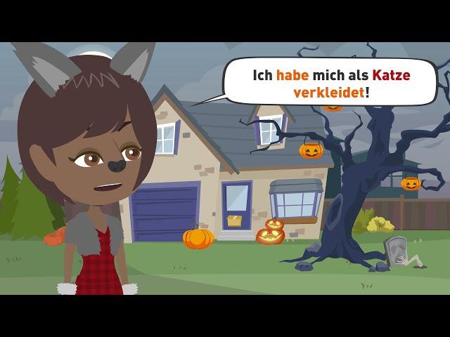 Deutsch lernen | 🎃 HALLOween | reflexive Verben