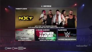 My WWE 2K18 Universe Livestream: WWE NXT (September.Week 2)