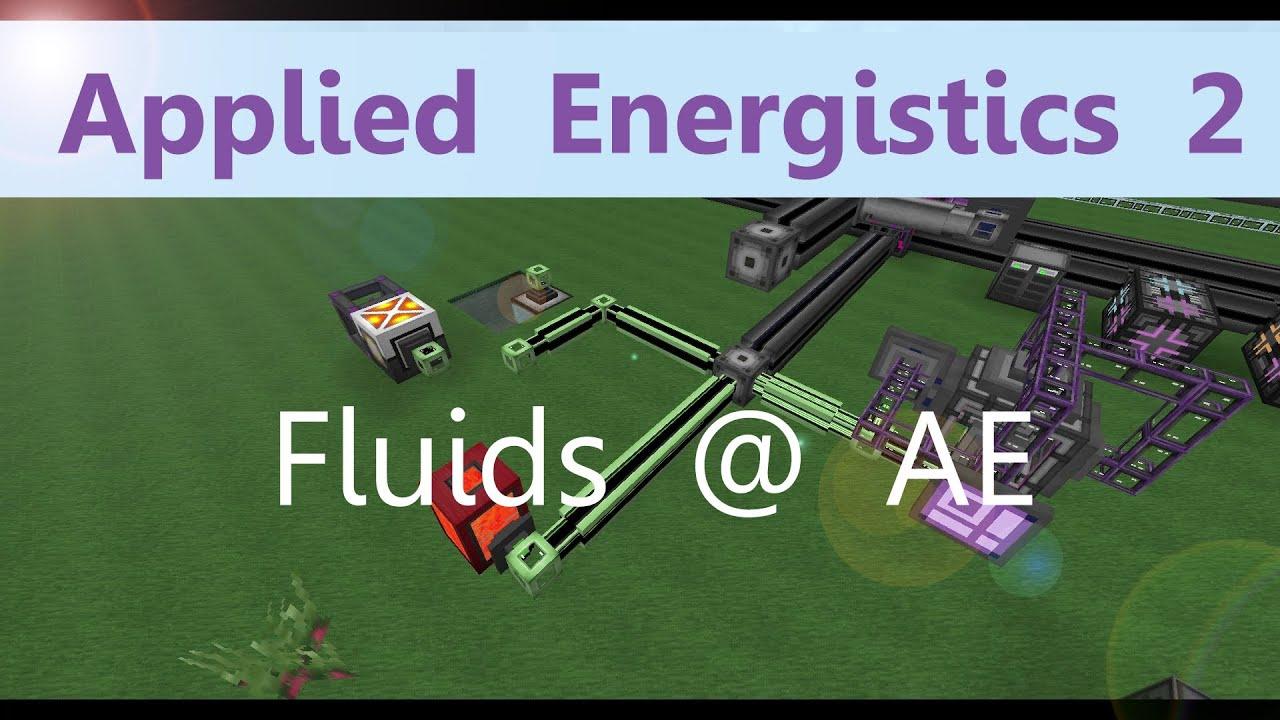 Applied Energistics 2 Tutorial: Fluids im AE System [Deutsch]
