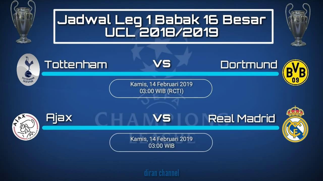 Jadwal Liga Champions Babak  Besar