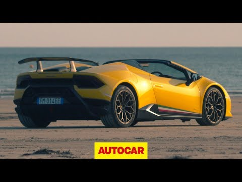 Lamborghini Huracan Performante Spyder 2018 review | Autocar
